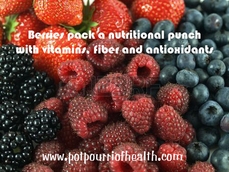 Berries pack nutritional wealth - full of antioxidants and fiber, with natural sugar. Laura - Potpourri of Health