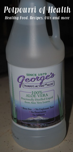 Potpourri of Health Georges Aloe Vera Juice